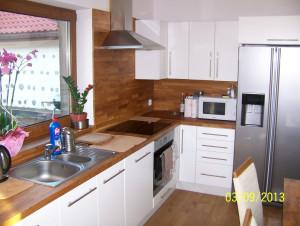 Dąb standard, wyposażenie kuchni w drewniane elementy, meble