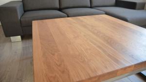 Drewniany blat stolika kawowego