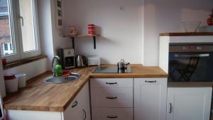 Wyposażenie kuchni, dębowy blat kuchenny